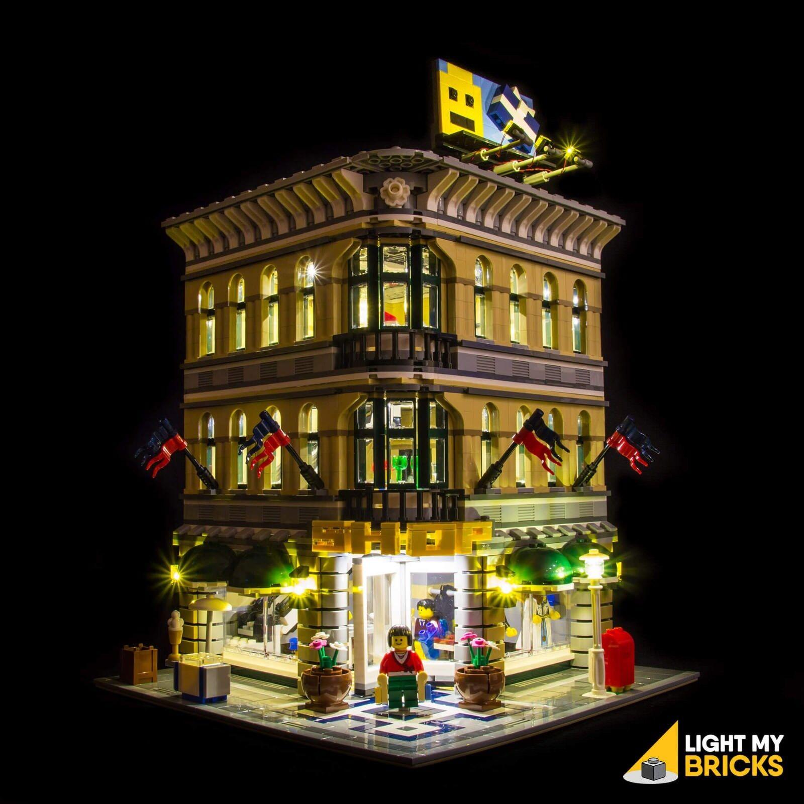 Light My Ladrillos-LED Luz Kit Para Lego Grand Emporium Set 10211 Luz LED De Lego
