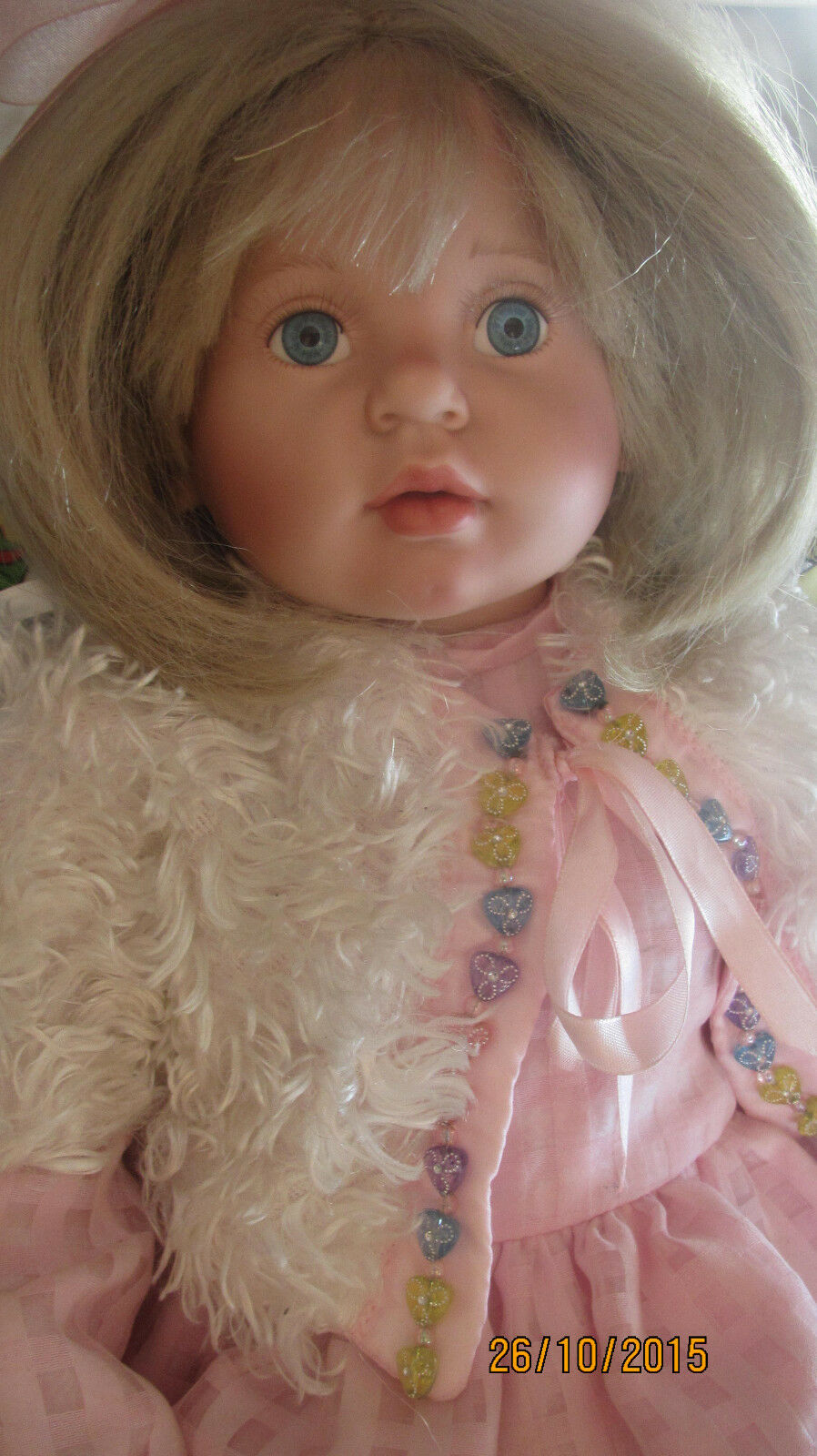 Paradise Galleries-Treasury Collection Emma By damen Rubert Vinyl Doll