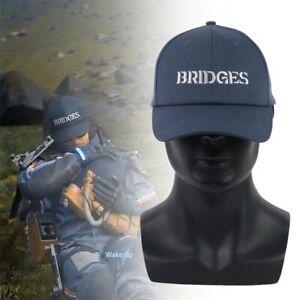 Death-Stranding-Cosplay-Hat-Sam-Blue-Bridges-Embroidery-Baseball-Cap-Adjustable