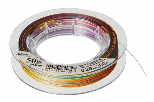 6,6kg Daiwa Tournament 8 Braid 0,10mm 1000m Multicolor Geflochtene Schnur