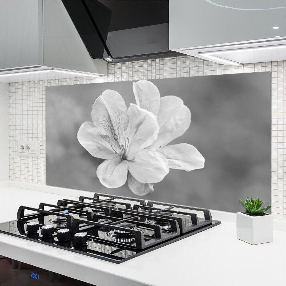 Crédence de cuisine en verre Panneau 140x70 Floral Floral Floral Fleurs ba1a7f
