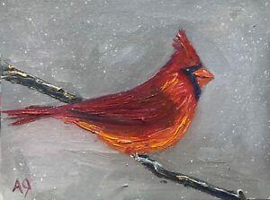 5 X 7 Bird Art Bird Wall Decor Cardinal Print Art Print of an Original Watercolor Painting Female Northern Cardinal Print