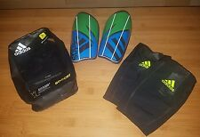 NEW ADIDAS GHOST PRO Soccer Shinguards with Sleeves - Size Small