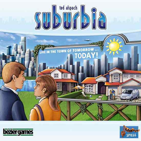 Bezier Games  SUBURBIA + CINQ 5 STAR + inc Game Bundle (Nouveau)