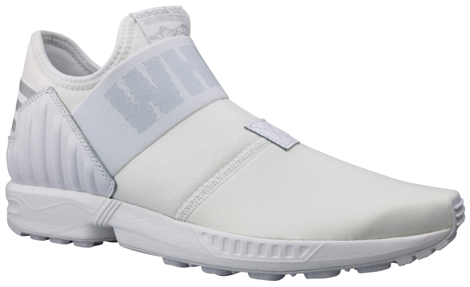 Adidas x Weiß Mountaineering ZX Flux Plus Turnschuhe Schuhe weiß Gr. 40 - 44 NEU