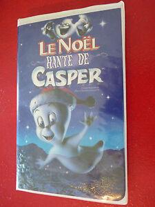 VHS-French-Movie-Le-Noel-Hante-de-Casper-Harvey-Home-Entertainment