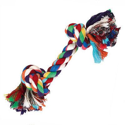 Hundespielzeug, Baumwollknoten - Zerrseil-Zahnknoten - Knotenseil ca. 48 cm
