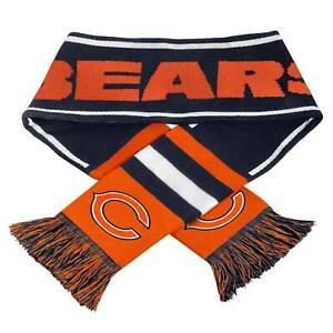2013-NFL-Football-Team-Logo-Wordmark-Scarf-Chicago-Bears