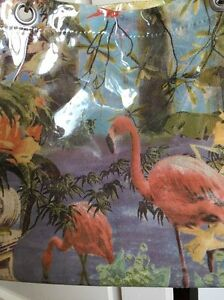 Euc Jean Plastic Coated Paul Print Flamingo Gaultier Tote Soleil hxsCtQdr
