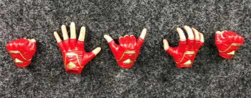 Red Gloved Hands Set MMS522 Hot Toys 1//6 MMS521 Captain Marvel