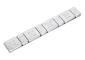 Strip-of-8-Self-Adhesive-Weights-For-Model-Railways-Lima-Mainline-Triang-Dapol