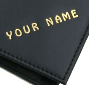 Man's wallet Personalised with any name Cows leather Coin pocket Quality item