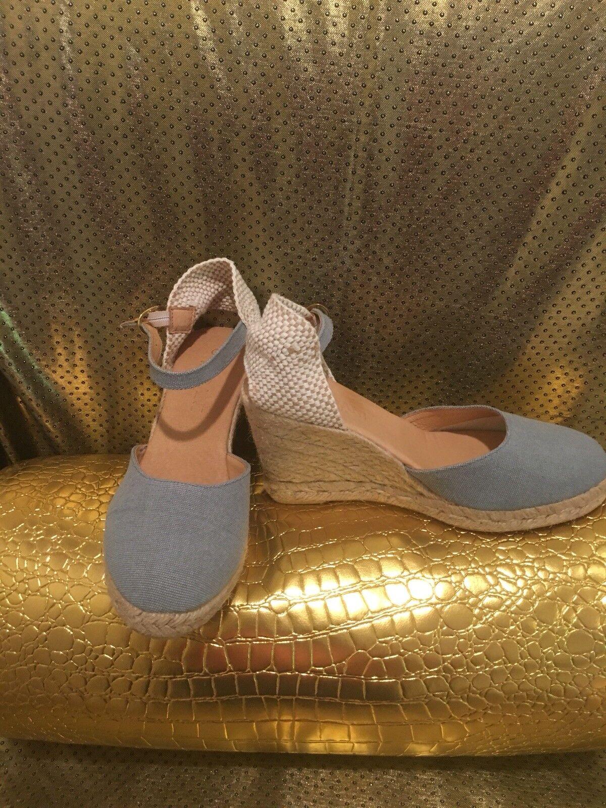 Cordani Bleu Calzature Espadrilles Chaussures Taille 37 Espagne Sandales
