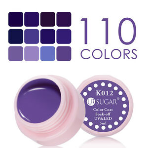 5ml-Soak-Off-Nail-Art-UV-Gel-Polish-Purple-Color-Coat-Varnish-K001-K012
