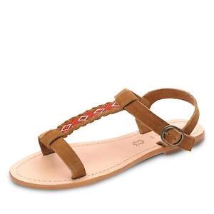 Details zu Esprit Fergy Damen Sandale Sandalette Riemchenschuhe Sommerschuhe Schuhe Leder