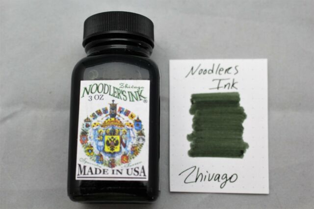 NOODLERS INK 3 OZ BOTTLE ZHIVAGO
