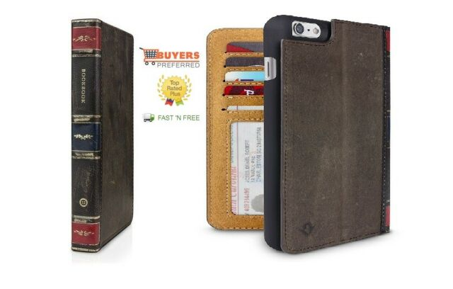 low priced 5e6d2 21f2c Twelve South Book Leather Wallet Case for iPhone 6 Plus/6s Plus Black