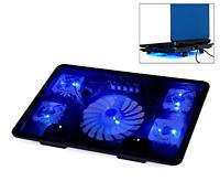Welltopâ® Notebook Laptop Cooling Pads 5 Fans Cooler Cooling Rack Computer Fan