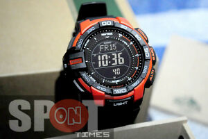 Casio Protrek Triple Sensor Solar Compass Men s Watch PRG-270-4D ... 82e7ad0b3d