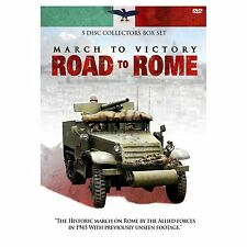 ROAD TO VICTORY March to Rome BOX 3DVD Lingua Inglese NEW.cp