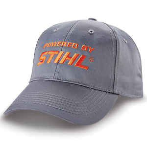 Stihl Outfitters Cap Gray Fabric Hat Cap Outfitters Powered By STIHL 92fce7