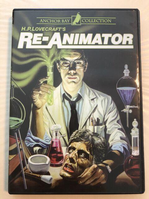 "RE-ANIMATOR 4/"" x 3/"" Full Color Die-Cut Vinyl Decal HORROR HP LOVECRAFT"