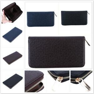 Men-Faux-Leather-Wallet-Pocket-Card-Holder-Billfold-Clutch-Bifold-Purse-Wallet-B