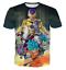 Women Men Dragon Ball Z Goku Frieza 3D Print T-Shirt Casual Short Sleeve Top Tee