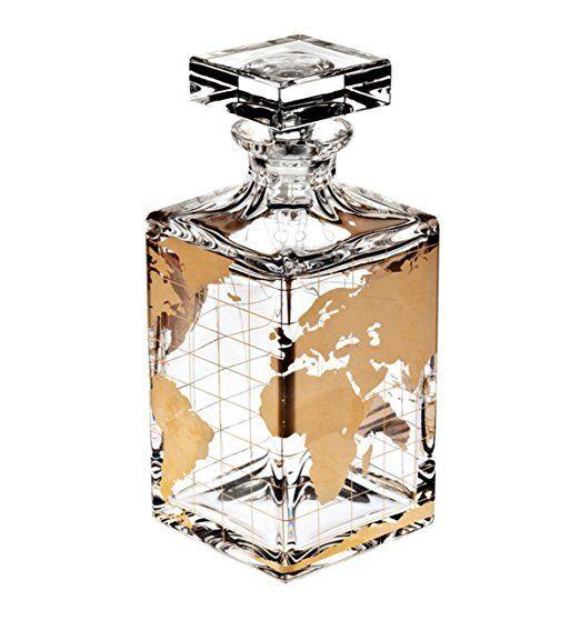 VISTA ALEGRE-Atlas-whisky decanter (ref   48000005) Handmade Crystal