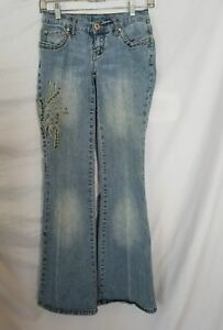 Vanilla-Star-Embellished-Jeans-Size-1-Light-Wash-Studded-Wings