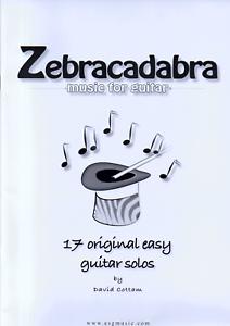 ZEBRACADABRA-MUSIC-FOR-GUITAR-17-Original-Easy-Solos-Sheet-Music-Book-Songbook