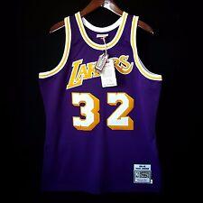 100% Authentic Magic Johnson Mitchell & Ness NBA Lakers Jersey Size 44 L