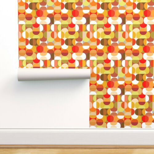 Wallpaper Roll Midcentury Modern Abstract Graphic Vintage Mod 24in x 27ft