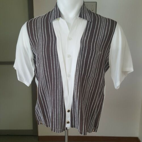 1950s Vintage Men's Shirt Jac By Rambler M