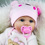 22-039-039-Handmade-Lifelike-Newborn-Silicone-Vinyl-Reborn-Baby-Doll-Soft-Body-Gifts thumbnail 4