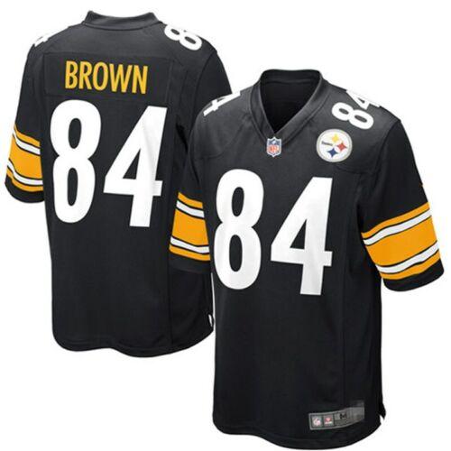 NFL Pittsburgh Steelers Jersey Brown Roethlisberger American Football T-shirt