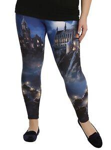 8cbceb103b Women's Harry Potter Leggings Tight Pants Yoga Workout Hogwarts ...
