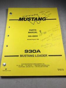 mustang parts manual