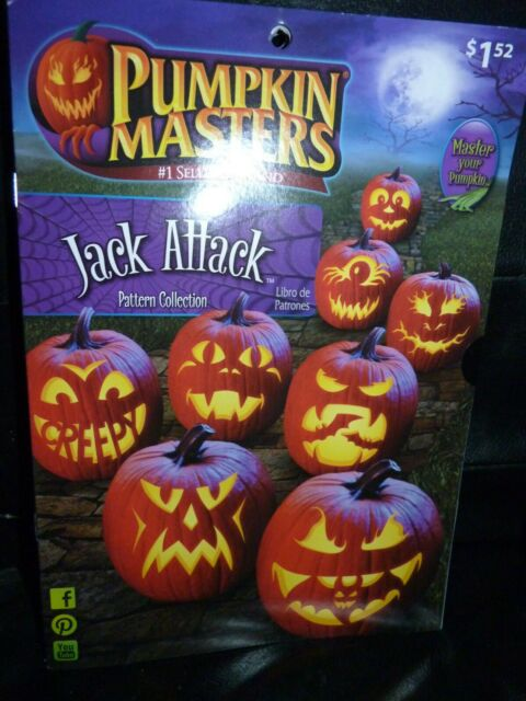 8 patterns NIP Jack Attack Pattern Collection Booklet by Pumpkin Masters