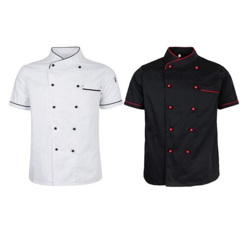 Manches longues Kochjacke Boulanger Veste Travail Veste de cuisine Veste kochkleidung chef