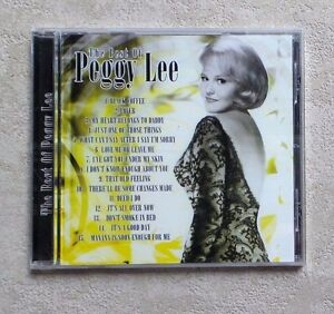 CD-AUDIO-MUSIQUE-PEGGY-LEE-034-THE-BEST-OF-PEGGY-LEE-034-15T-CD-COMPILATION-NEUF