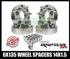 6x135 WHEEL SPACERS 2 INCH 2015 AND UP FORD RAPTOR SVT F150 EXPEDITION NAVIGATOR