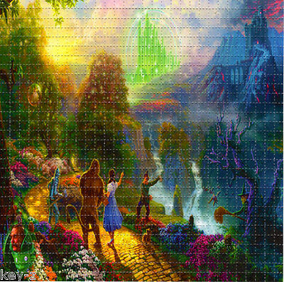 WIZARD OF OZ  - BLOTTER ART perforated psychedelic