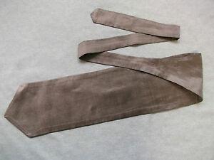 Ascot Foulard Homme Mariage Chouchou Ruché Taille Unique Brillant Chocolat Au Lait-afficher Le Titre D'origine