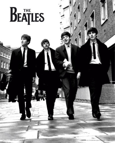 The Beatles In London Music Rock Pop Mini Poster Print 40x50cm16x20 inches