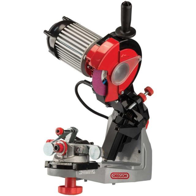 oregon 620 120 bench chainsaw chain grinder hydraulic assist 511ax rh ebay com Chainsaw Chain Sharpener 511AX Bench Chain Grinder