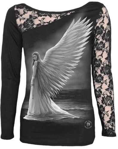 SPIRAL DIRECT Long Sleeve//Rock//Metal//Fairy//Angel//Goth//Ladies//Girls//Women/'s//Top