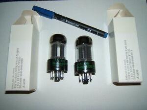 Roehren-6SL7-mil-NOS-Philips-USA-Militaerroehren-neu-gem-Paar-fuer-alle-hochw-Verst