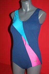 Vintage Original Sporett Oluba Badeanzug 80er Gdr Swimwear Swimsuit Women Gr. 44