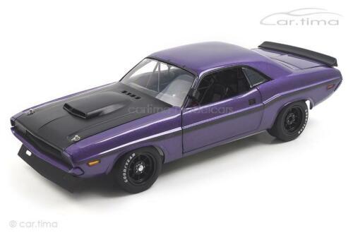 Dodge Challenger-Trans Am Street versión-Acme 1:18 - a1806010